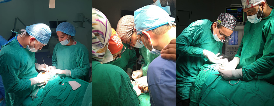 Campagne médicale des fentes labio-palatines El Kelâa des Sraghna